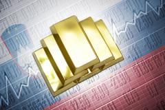 slovenian gold reserves - stock photo