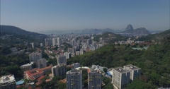 Aerial - Rio de Janeiro / Pão de Açúcar - Sugar Loaf Stock Footage