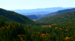 Colorado Mountain Valley, 4K - stock footage