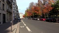 Luxembourg gardens in Paris. France. Jardin du Luxembourg. 4K. Stock Footage