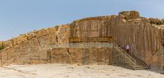 Persepolis royal tombs - stock photo