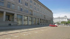 Ministry of Economy building in Warsaw Stock Footage