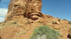 Desert rocks utah outside dry 4 Stock Footage