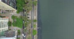 Aerial - Rio de Janeiro / Lagoa Rodrigo de Freitas 09 Stock Footage