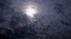 Storm clouds, time lapse Stock Footage