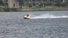 Jet Skis, Watercraft, Seadoos, Water Sports, Fun Stock Footage
