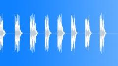 Artificial bird 01 - sound effect