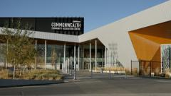 Commonwealth Community Centre in Edmonton Alberta - stock footage
