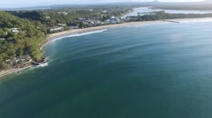 Main Beach Noosa Heads Australia Stock Footage