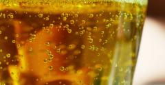 Fresh cider detail Stock Footage
