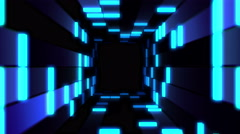 Tunnel Blocked Live VJ Loop Animation Graphics Stock Footage