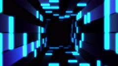 Tunnel Blocked Live VJ Loop Animation Graphics Stock Footage