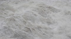 Muddy River Rapids Stock Footage