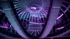 Neural Interface Live VJ Loop Animation Graphics Stock Footage