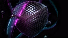 The Source Live VJ Loop Animation Graphics Stock Footage