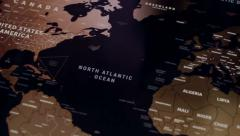 The World Map 92 Stock Footage
