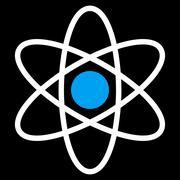 Atom Icon Stock Illustration