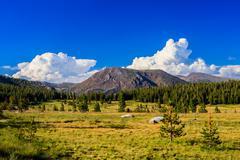 Stock Photo of Tioga Pass, Yosemite National Park, Sierra Nevada, USA