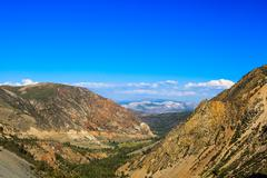 Highway 120, Inyo National Forest, California, USA Stock Photos