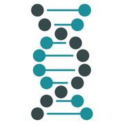 Dna Spiral Icon Stock Illustration