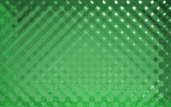 crystal pattern green - stock illustration