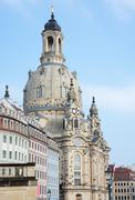Landmark of Dresden - stock photo