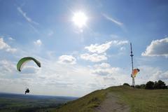 Paraglider - stock photo