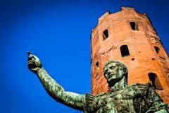 Stock Photo of The leader: Cesare Augustus - Emperor