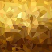 Gold pattern low poly 3d triangle geometry fancy - stock illustration