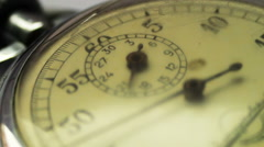 Vintage stop watch Stock Footage