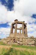 Stonehaven War Memorial, Aberdeenshire, Scotland, UK Stock Photos
