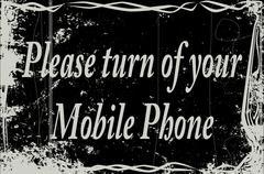 Silent Movie Frame Cell Phone Piirros
