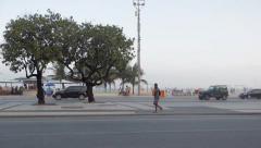 Copacabana/Rio de Janeiro Stock Footage