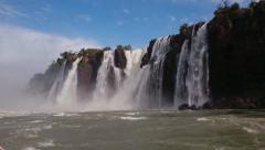 Iguassu Falls - One of nature's 7 wonders - Cataratas do Iguaçu 06 - stock footage
