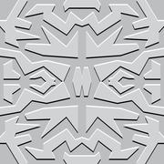 abstract vector seamless wallpaper - stock illustration