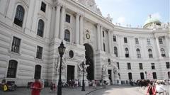 Hofburg Palace -Vienna Stock Footage