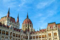 Stock Photo of Parliament of Budapest.