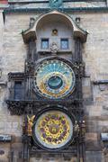 Prague Astronomical Clock, Czech Republic - stock photo