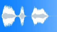 Cartoon bird announce scream - sound effect