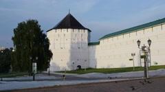 Holy Trinity-St. Sergius Lavra Stock Footage