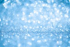 Stock Photo of Blue shiny winter christmas abstract background