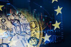 euro invest concept - stock photo