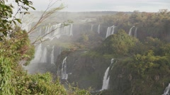 Iguassu Falls - One of nature's 7 wonders - Cataratas do Iguaçu 04 Stock Footage