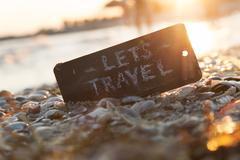 Let's travel concept Stock Photos