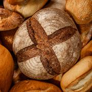 Stock Photo of Breads and baked goods