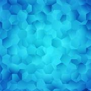 Stock Illustration of Abstract bright blue wallpaper. illustration