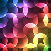 Abstract bright spectrum wallpaper. illustration - stock illustration