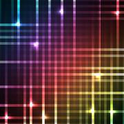 Abstract bright spectrum wallpaper. illustration - stock illustration