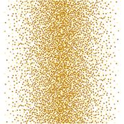 Abstract golden confetti background Stock Illustration