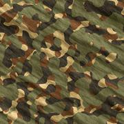Military texture camouflage background - stock illustration